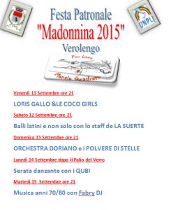 Serate Danzanti Madonnina 2015
